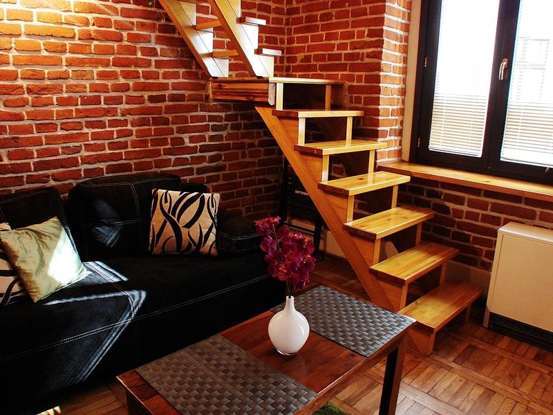 apartment red brick st dietla kazimierz krakow